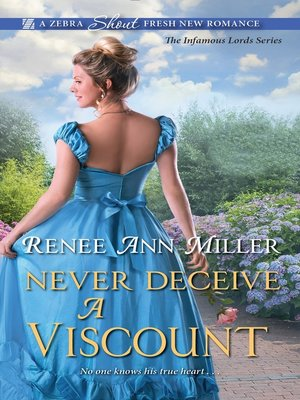 cover image of Never Deceive a Viscount