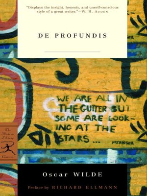 cover image of De Profundis