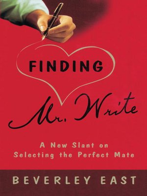 cover image of Finding Mr. Write