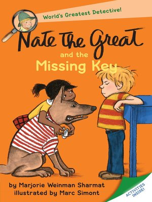 cover image of Nate the Great and the Missing Key