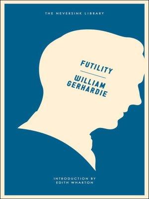 cover image of Futility