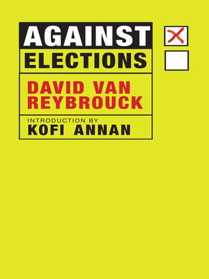 cover image of Against Elections