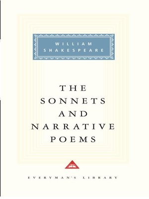 cover image of The Sonnets and Narrative Poems