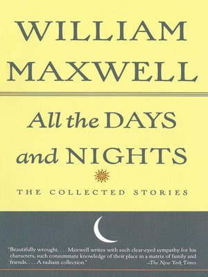 cover image of All the Days and Nights