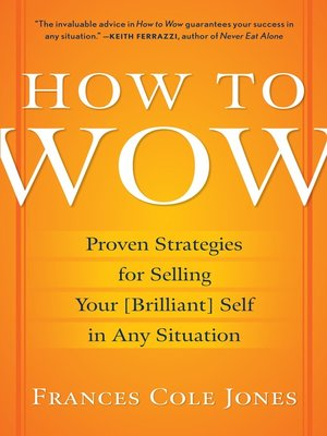 cover image of How to Wow