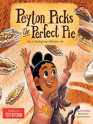 cover image of Peyton Picks the Perfect Pie