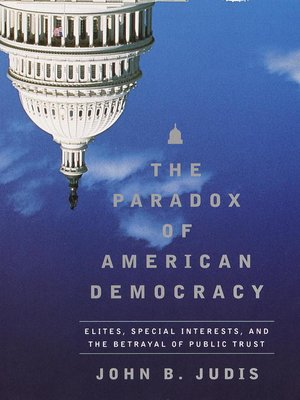 cover image of The Paradox of American Democracy