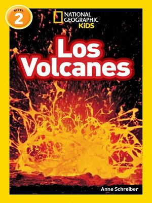 cover image of National Geographic Readers: Los Volcanes