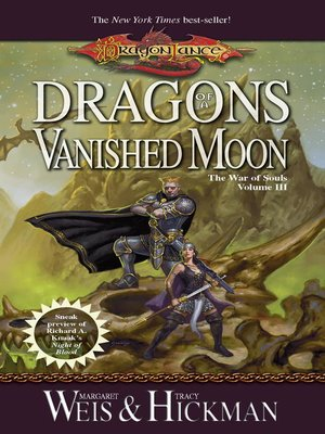 cover image of Dragons of a Vanished Moon