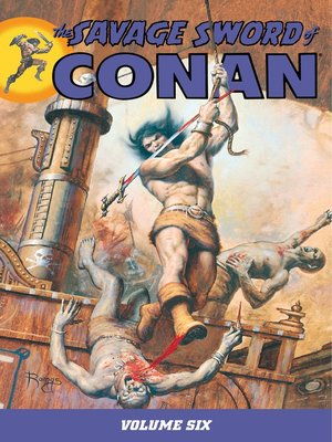 cover image of Savage Sword of Conan, Volume 6