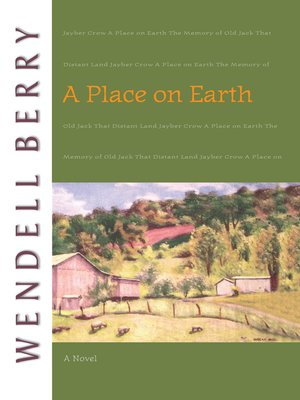 cover image of A Place on Earth