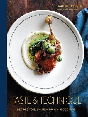 cover image of Taste & Technique