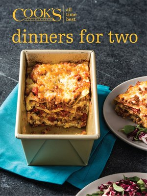 cover image of All-Time Best Dinners for Two
