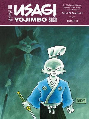 cover image of Usagi Yojimbo Saga Volume 2 ()