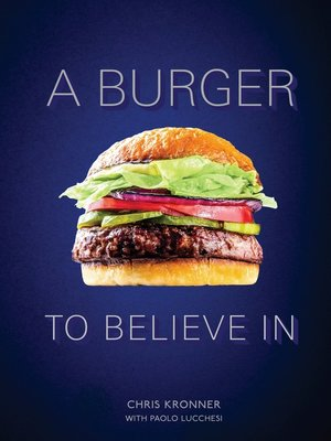 cover image of A Burger to Believe In