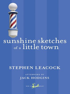 cover image of Sunshine Sketches of a Little Town