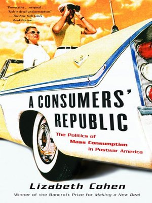 cover image of A Consumers' Republic