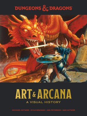 cover image of Dungeons & Dragons Art & Arcana