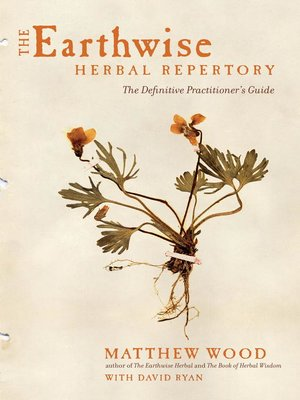 cover image of The Earthwise Herbal Repertory
