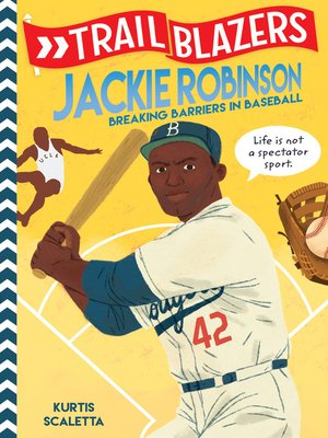cover image of Jackie Robinson: Breaking Barriers in Baseball