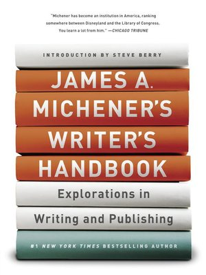 cover image of James A. Michener's Writer's Handbook