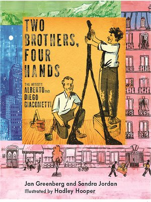 cover image of Two Brothers, Four Hands
