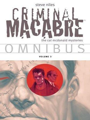 cover image of Criminal Macabre (2003), Omnibus Volume 3