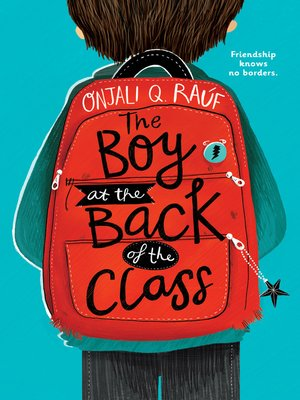 cover image of The Boy at the Back of the Class