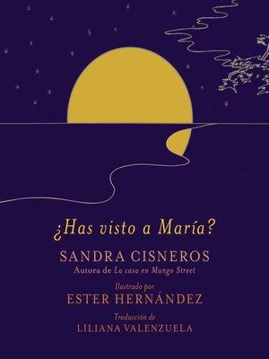 cover image of ¿Has visto a María?