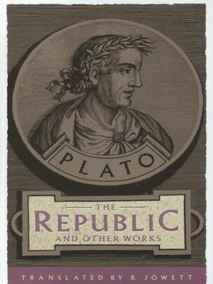 cover image of The Republic and Other Works