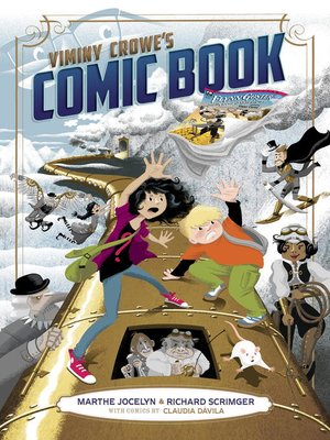 cover image of Viminy Crowe's Comic Book