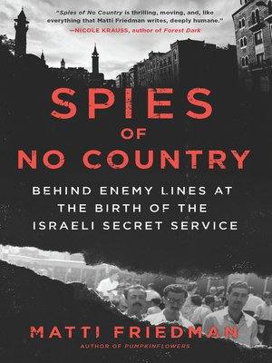 cover image of Spies of No Country