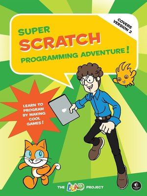 cover image of Super Scratch Programming Adventure! (Covers Version 2)