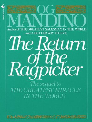 cover image of The Return of the Ragpicker