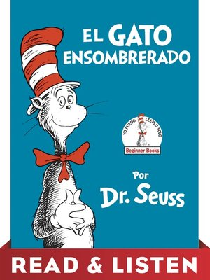 cover image of El Gato Ensombrerado (The Cat in the Hat Spanish Edition)