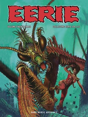 cover image of Eerie Archives Volume 23