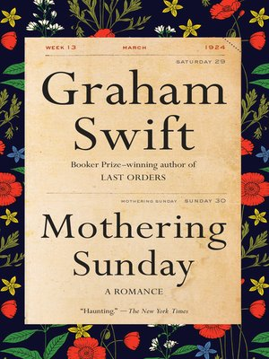 cover image of Mothering Sunday