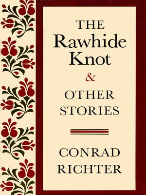 cover image of RAWHIDE KNOT&OTH STORIES