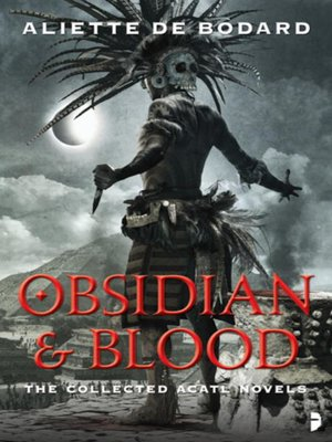 cover image of Obsidian & Blood
