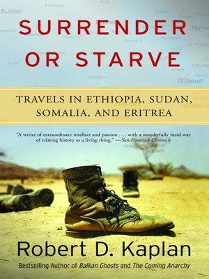 cover image of Surrender or Starve