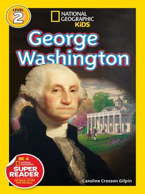cover image of National Geographic Readers: George Washington