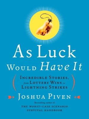 cover image of As Luck Would Have It