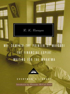 cover image of Mr Sampath-The Printer of Malgudi, the Financial Expert, Waiting for the Mahatma