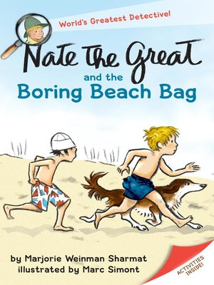 cover image of Nate the Great and the Boring Beach Bag