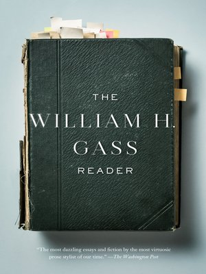 cover image of The William H. Gass Reader