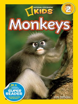 cover image of National Geographic Readers: Monkeys