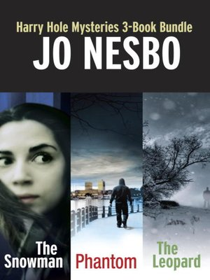cover image of Harry Hole Mysteries 3-Book Bundle