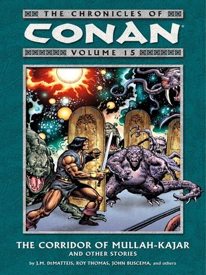 cover image of Chronicles of Conan, Volume 15