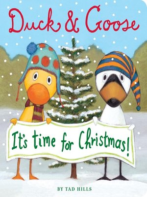 cover image of Duck & Goose, It's Time for Christmas!