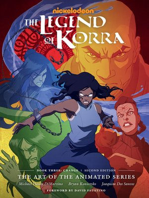 cover image of The Legend of Korra